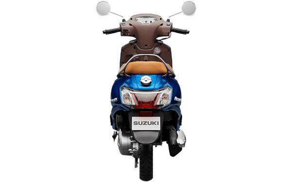 Suzuki Access 125 Special Edition Rear View