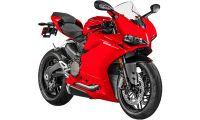 Ducati Panigale Red 959