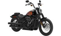 Harley Davidson Cruiser Street Bob Photo