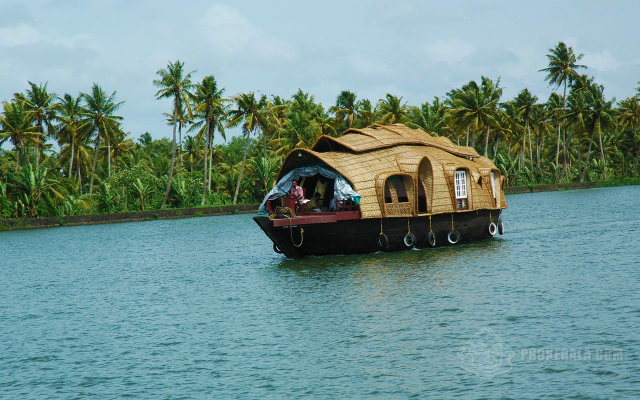 Kerala Backwaters Houseboat
