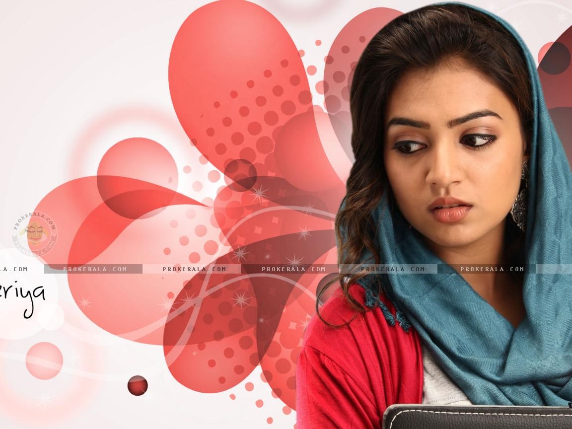 Nazriya HD Wallpaper For Mobile & Desktop