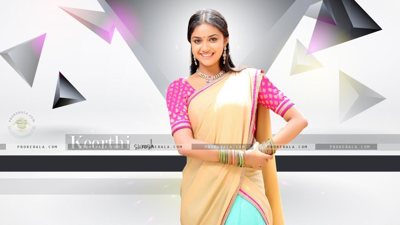 southindian actress keerthi suresh new wallpapers wallpaper 3