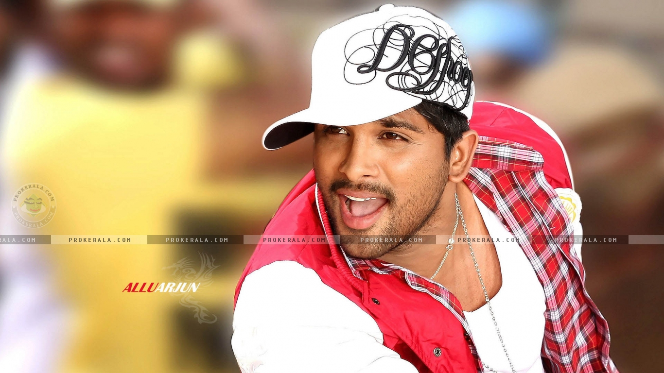 Allu Arjun High Resolution Wallpaper for Download