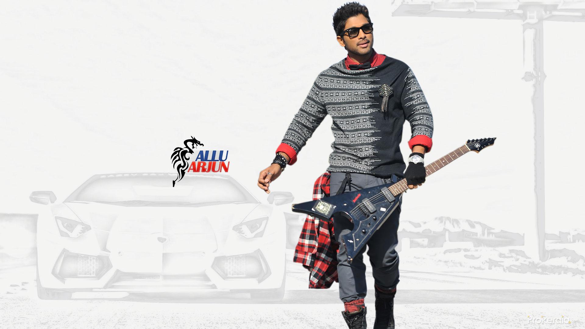 allu arjun hd wallpaper for desktop and mobile