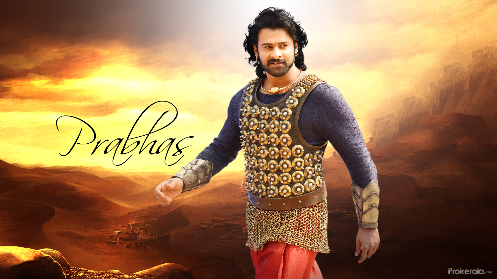 prabhas new movie bahubali-2 latest wallpapers