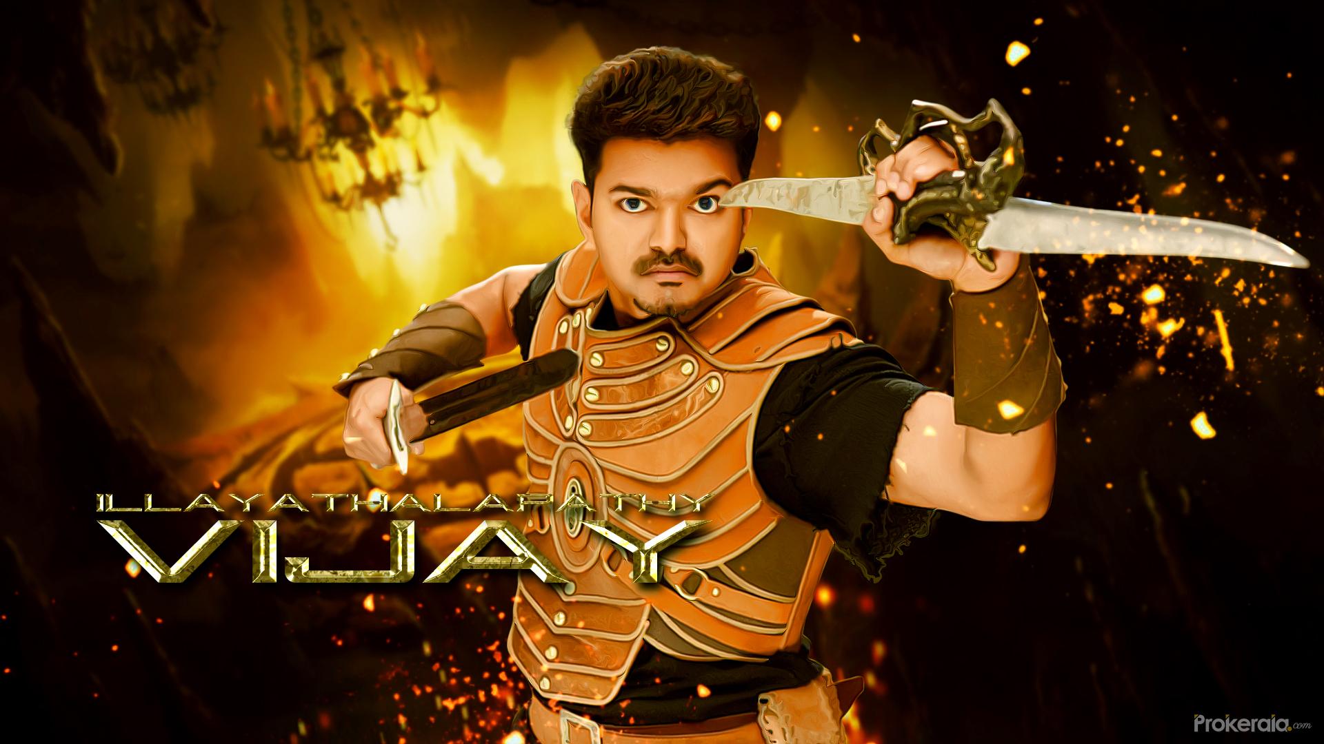 Hd wallpaper vijay - Vijay New Movie Puli Hd Wallpapers Download Wallpaper