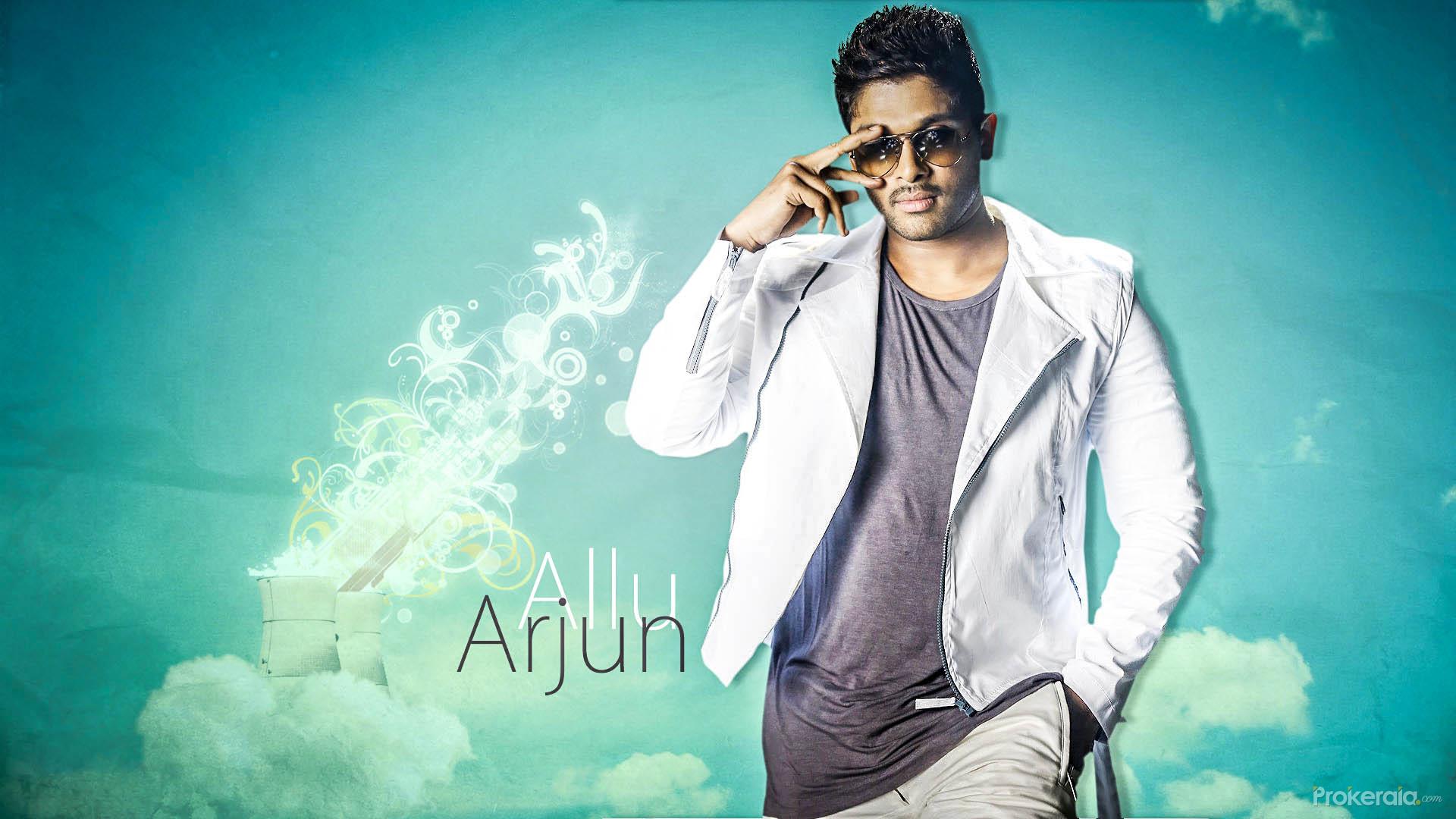 Download Allu Arjun Sunglasses Wallpapers: Allu Arjun Wallpaper