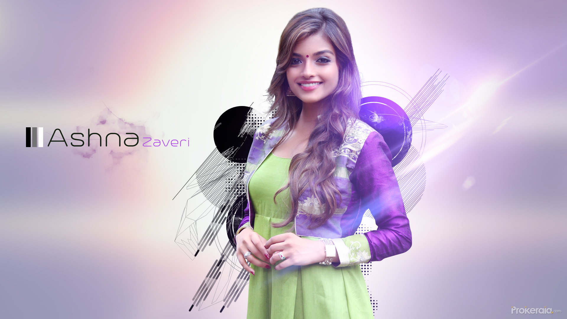 Ashna Zaveri Wallpaper