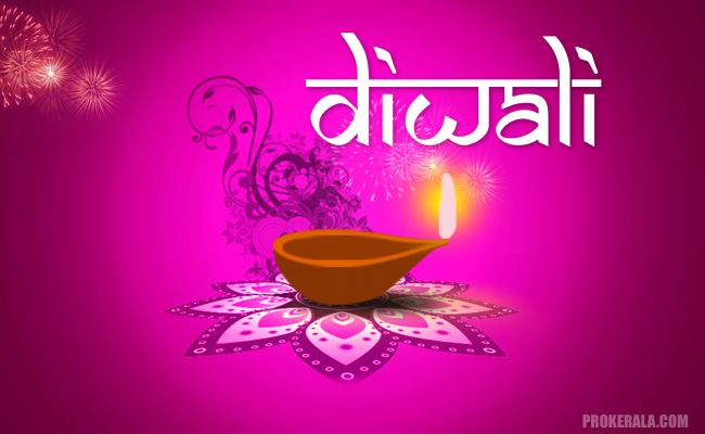 Graphic illustration of Diwali Diya