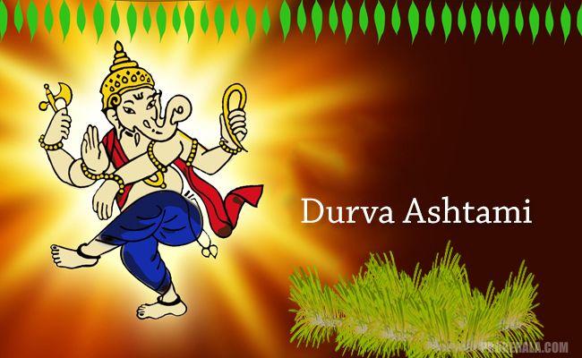 Lord Ganesha,Durva Grass