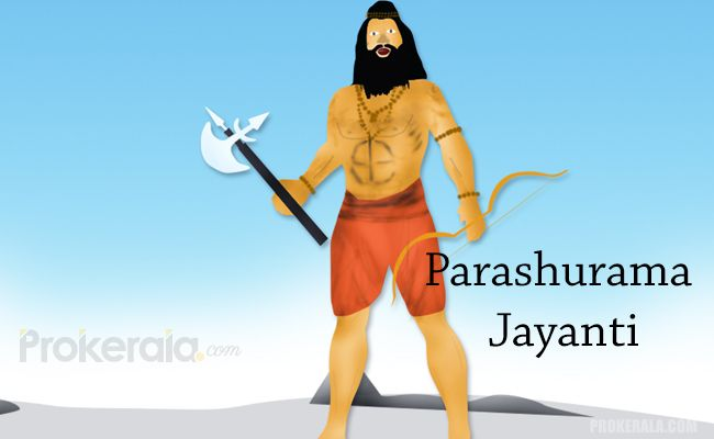 Parashuram with his axe