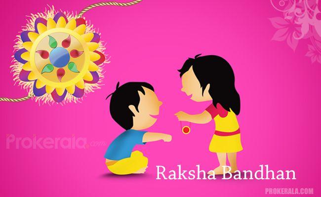 Raksha Bandhan Rakhi with Kids
