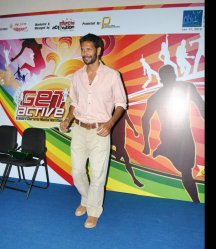 Milind Soman at Mumbai Marathon Get Active Expo to Be Inaugurated ...