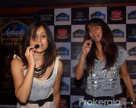 Shibani Dandekar, Apeksha Dandekar and Anusha Dandekar at ...  Apeksha