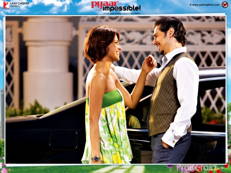 Dino Morya And Priyanka Chopra In Pyaar Impossible Wallpaper