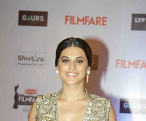 Tapsee Pannu at 61st Filmfare Awards Still