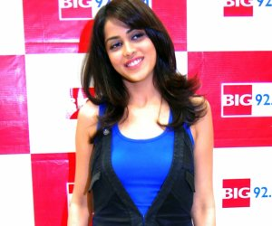 "Genelia D'Souza at Promotion of ""Chance pe Dance"" at Big 92.7 FM held at Infiniti Mall, Andheri on 11th January,2010"