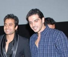 Jackky Bhagnani and Zayed Khan