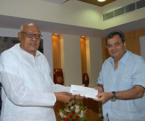 Subhash Ghai and Chief Minister  K.Rosaiah