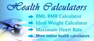 Online Health Calculators