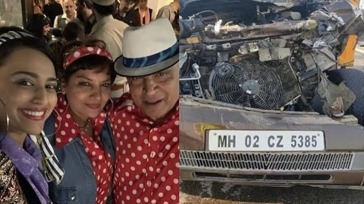 Actress Shabana Azmi injured in car accident