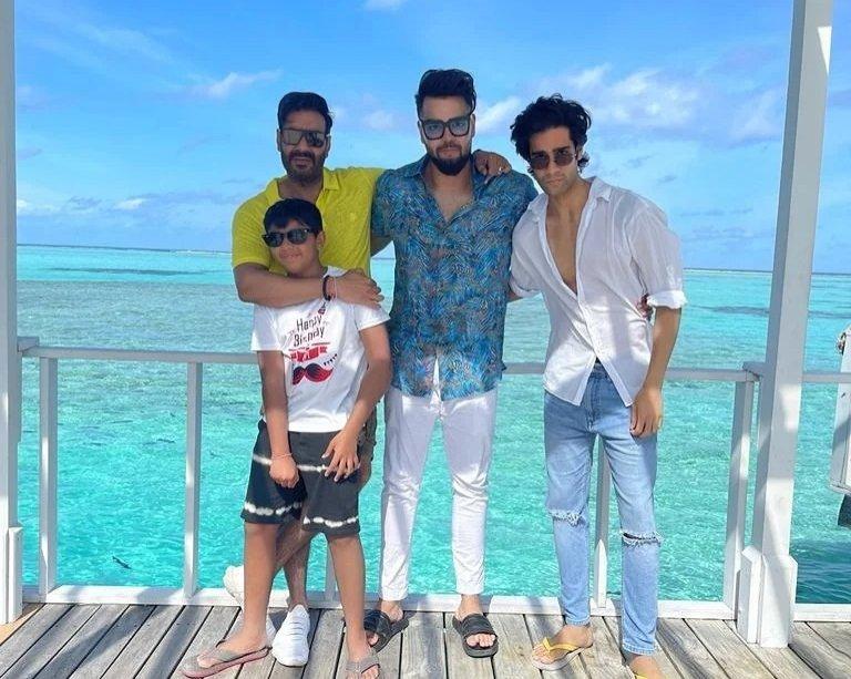 Ajay Devgn celebrates son Yug's birthday in Maldives