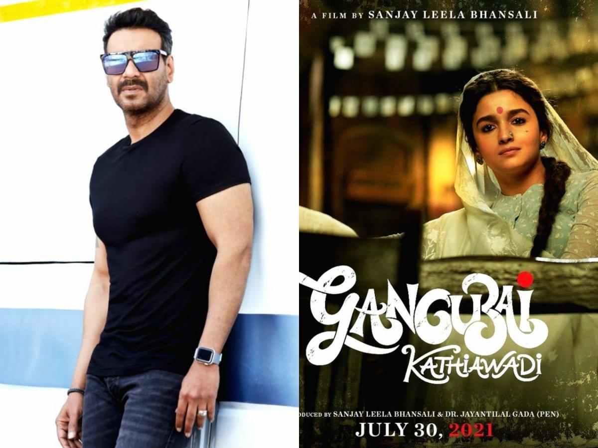 Ajay Devgn is collaborating with Sanjay Leela Bhansali for Gangubai Kathiawadi