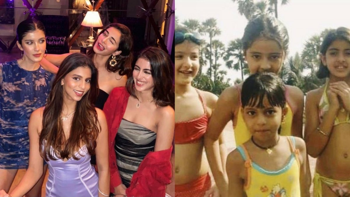 Ananya Panday shares priceless then-and-now pics