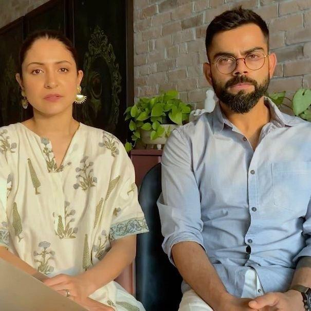 Anushka Sharma and Virat Kohli start Covid fundraiser