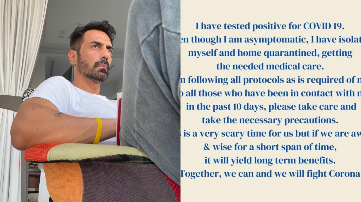 Arjun Rampal with day 2 quarantine picture
