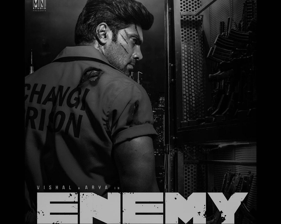 Arya looks rugged and intense in Enemy