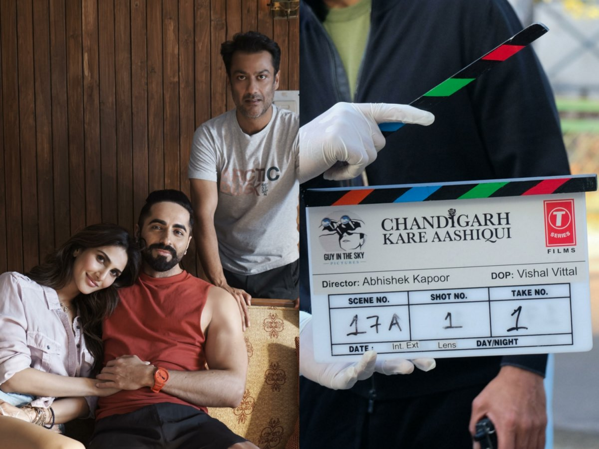 Ayushmann Khurrana and Vaani Kapoor in Abhishek Kapoor's upcoming film 'Chandigarh Kare Aashiqui'