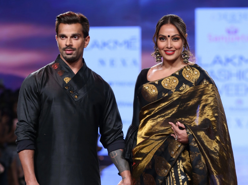 Bipasha Basu and Karan Singh Grover walked the ramp at Lakme Fashion Week 2020