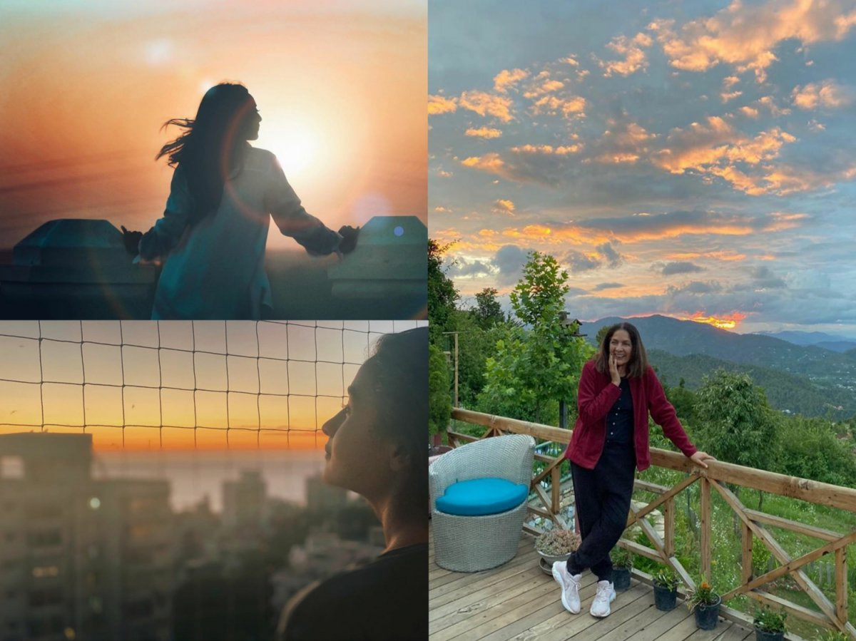 Bollywood celebs soaked in nature's beauty