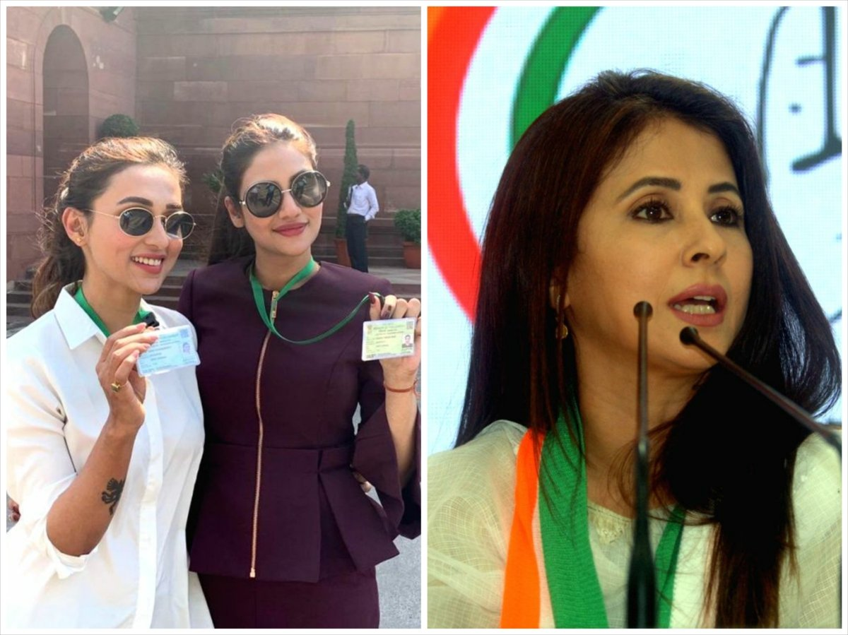 Celebs in Lok Sabha Election 2019