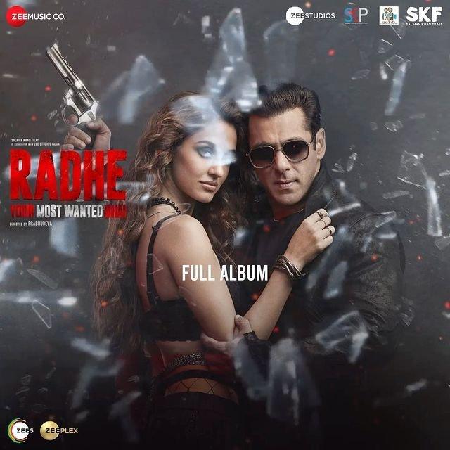 Check out the jukebox of Salman Khan starrer Radhe