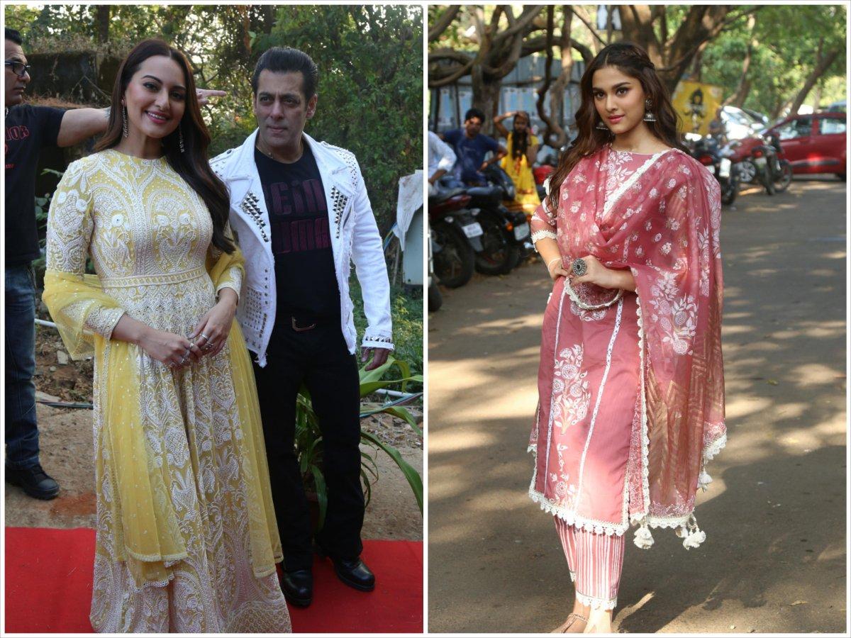 Dabangg 3 promotions - Salman Khan, Sonakshi Sinha and Saiee Manjrekar