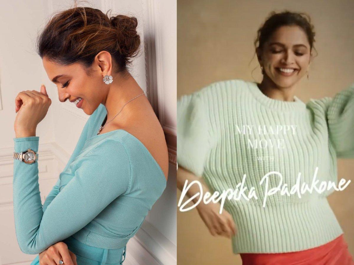 Deepika Padukone is 'happy when her body goes like this!'