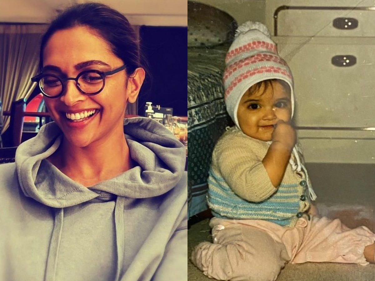 Deepika Padukone shares her cute childhood pic