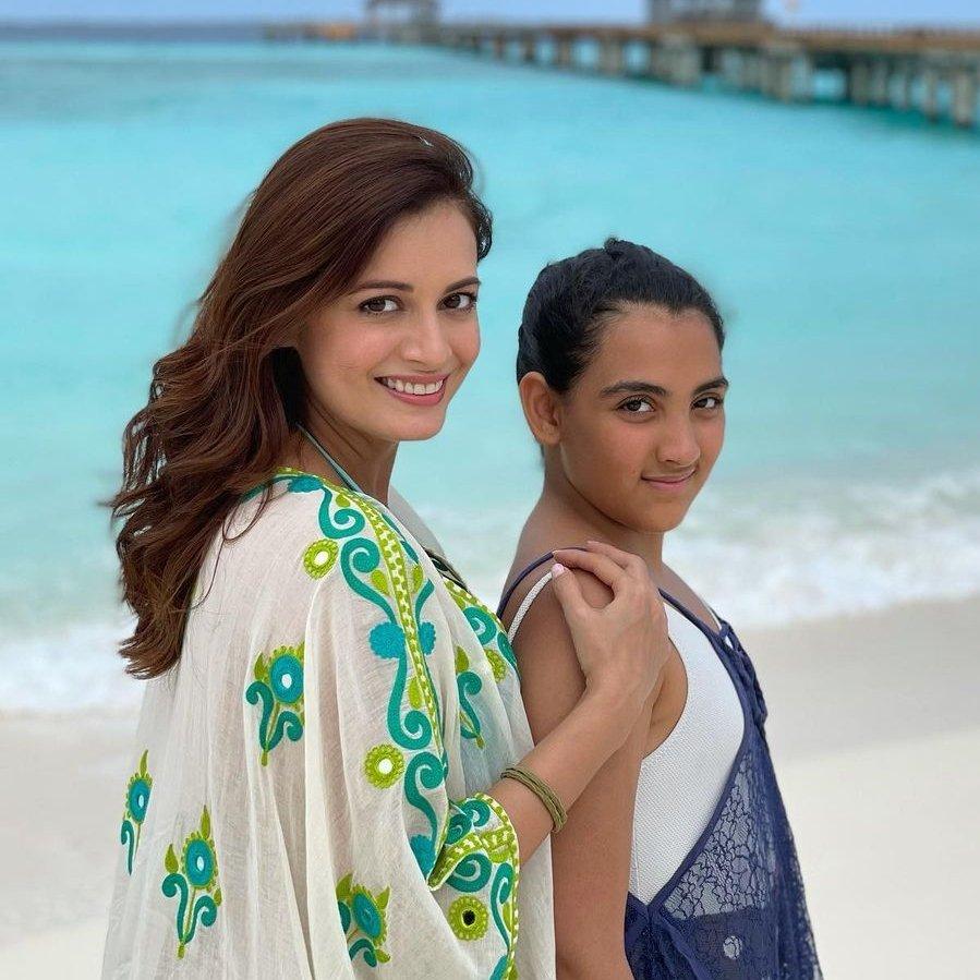 Dia Mirza celebrates stepdaughter Samaira's birthday