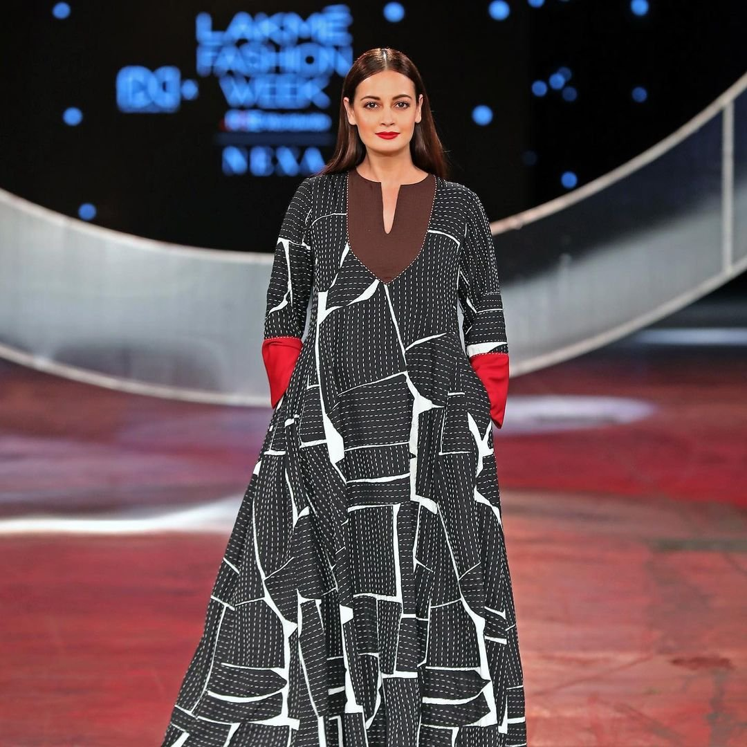 Dia Mirza turns muse for Abraham & Thakore at LFW 2021