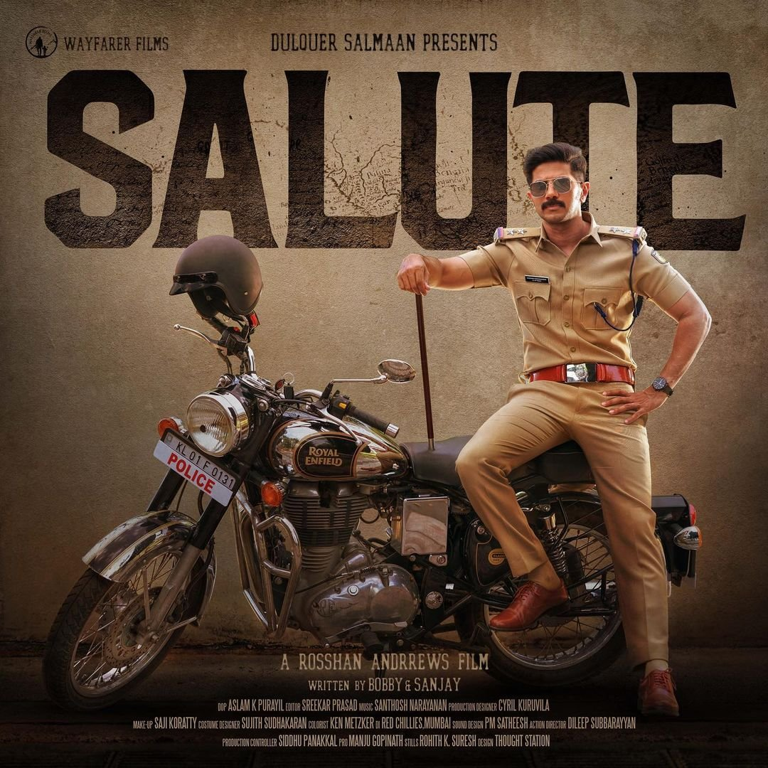 Dulquer Salmaan and Diana Penty starrer is titled Salute