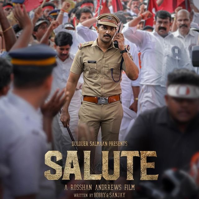 Dulquer Salmaan drops a new poster for Salute