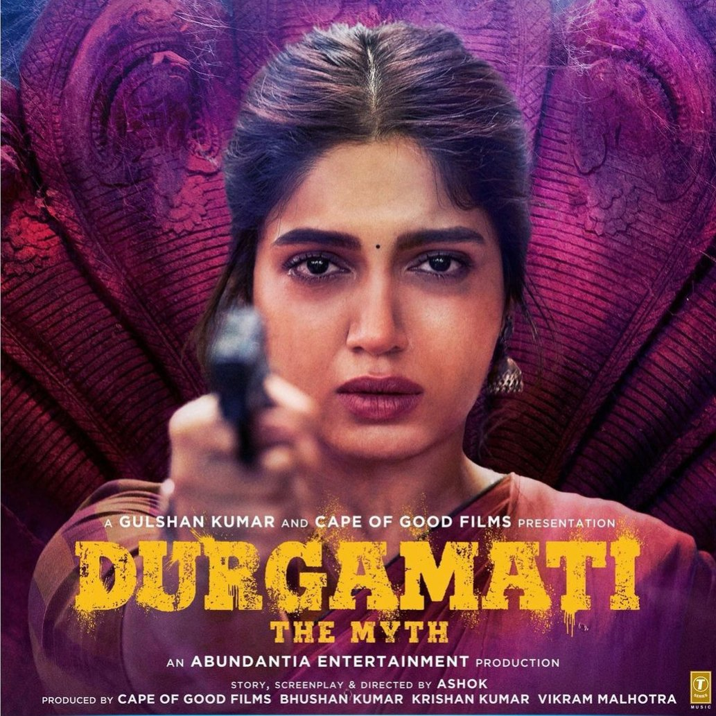 Durgamati character poster