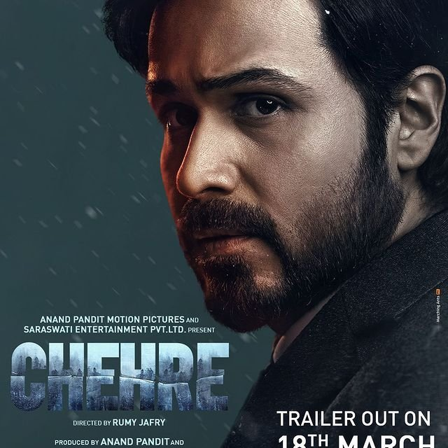 Emraan Hashmi's intense character poster from Chehre