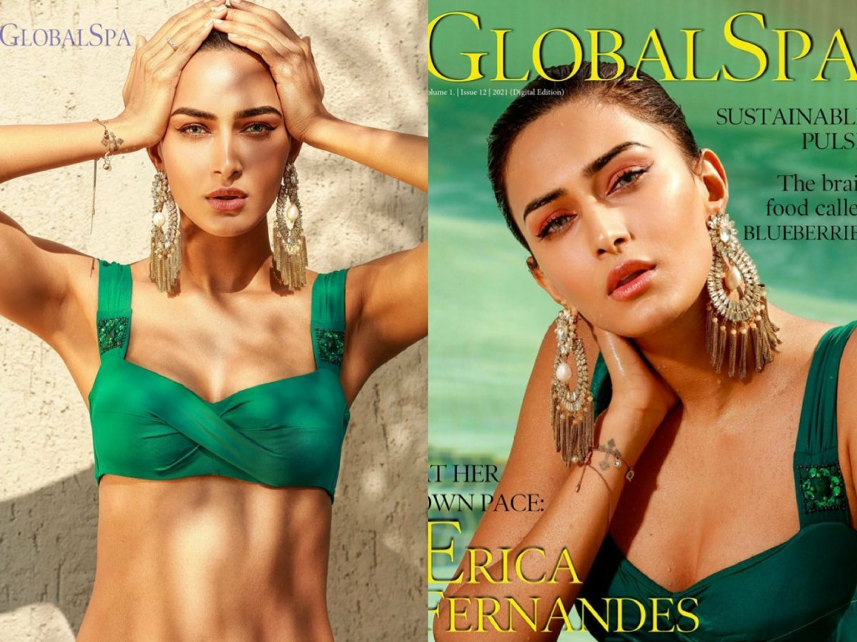 Erica Fernandes sizzles on the cover page of Global Spa