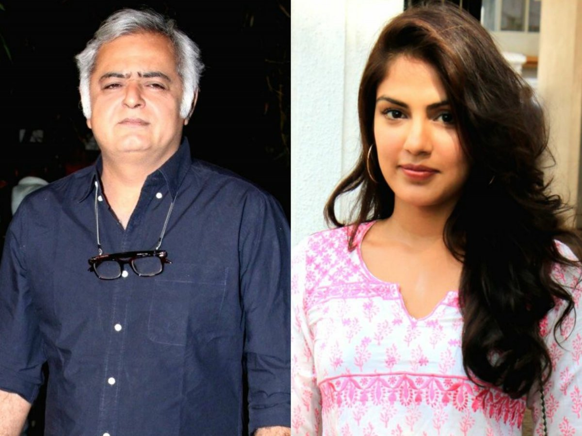 Hansal Mehta and Rhea Chakraborty