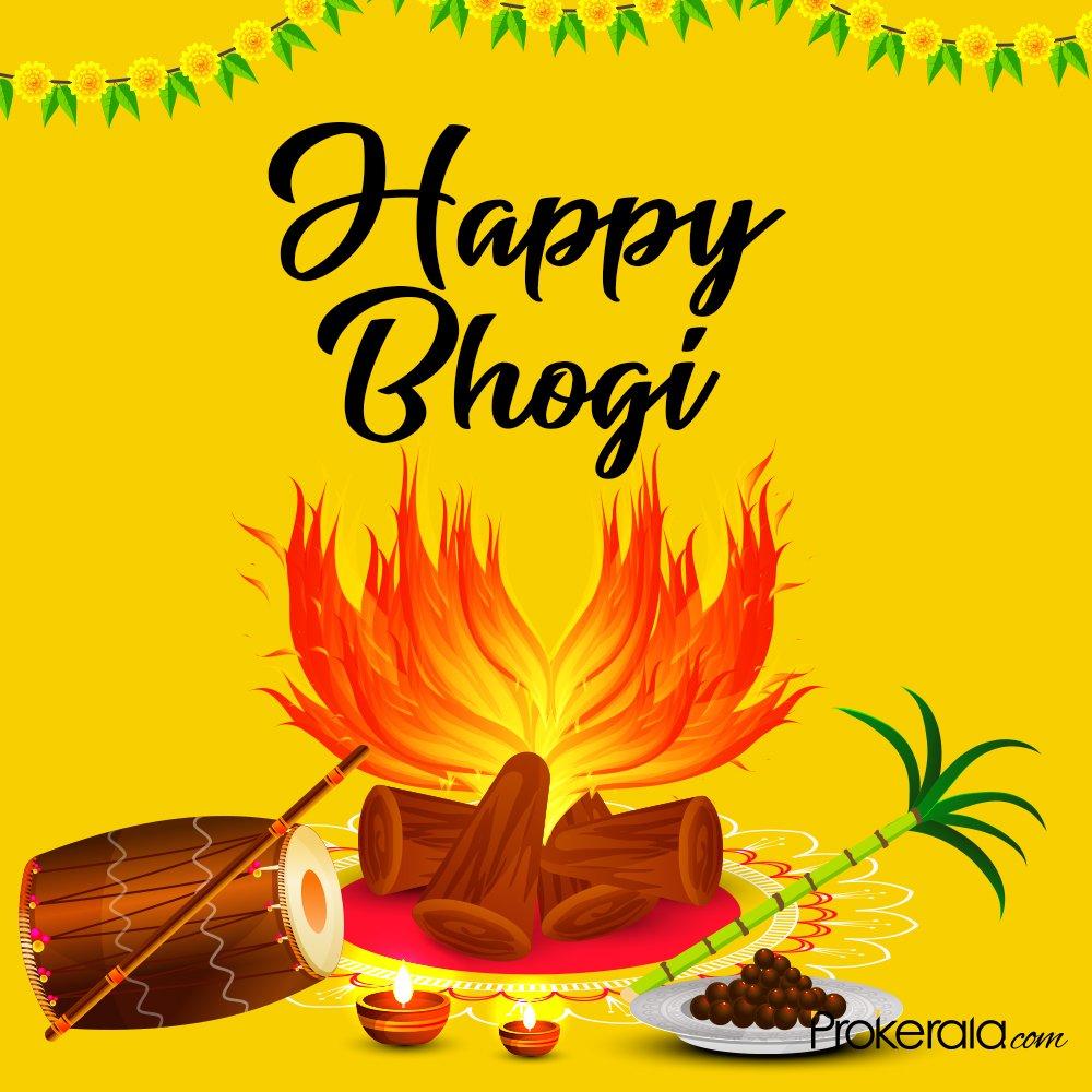 Happy Bhogi Pongal 2020