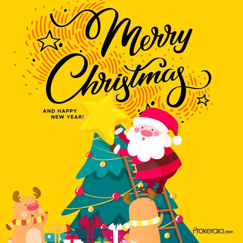Seasons Greetings: Send Merry Christmas Whatsapp Status