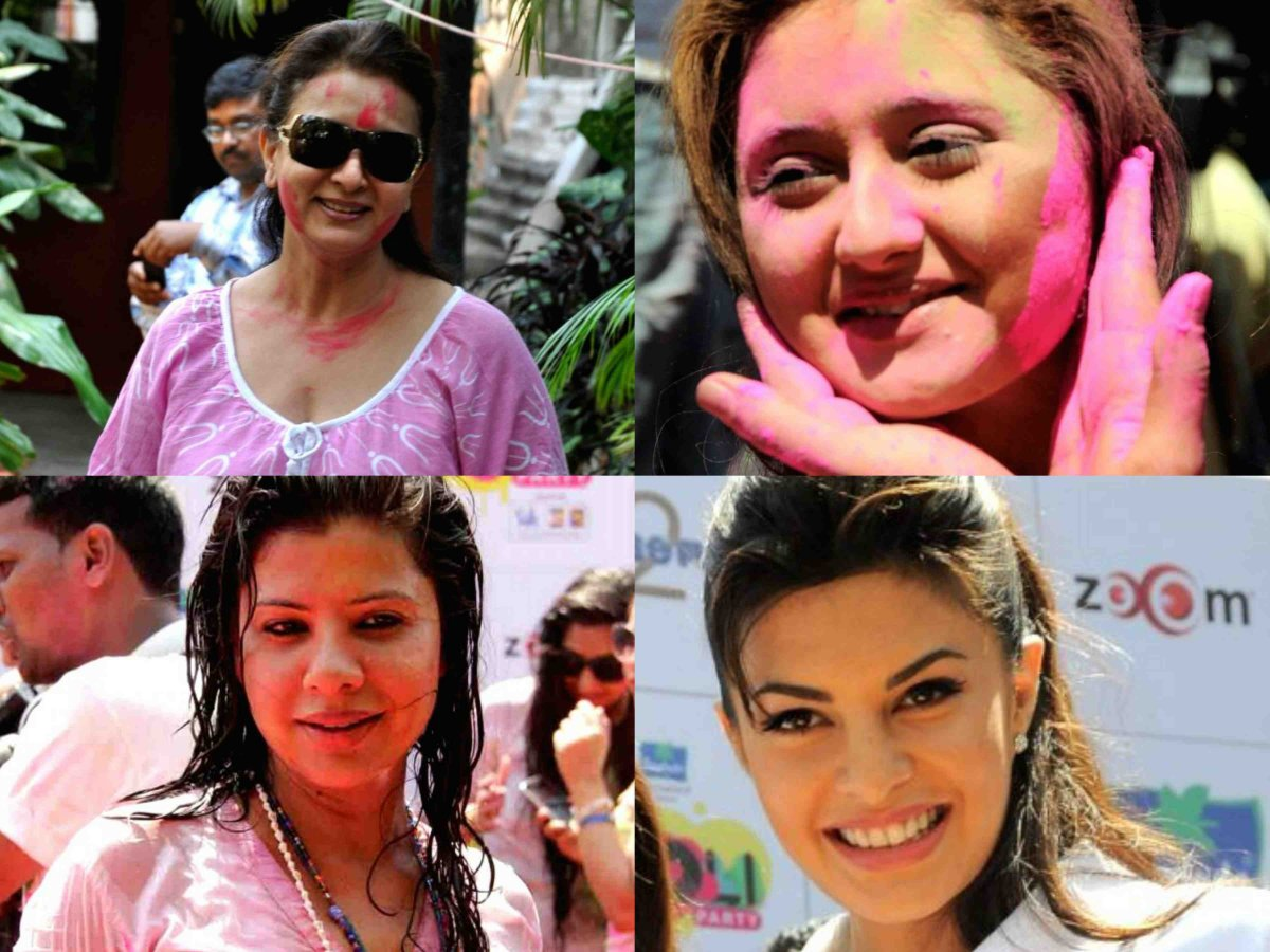 Holi Celebration by Bollywood celebrities